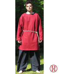 Tunic in felt medium lenght
