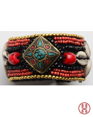 Medieval Bracelet with Beads 1