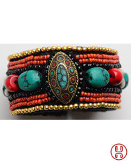 Medieval Bracelet with Beads 2