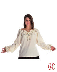 Medieval Blouse offwhite
