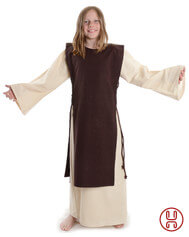 Medieval Dress with overdress for Kids