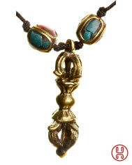 Medieval Viking Necklace with Dorje