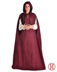 Medieval Cloak with hood Minne