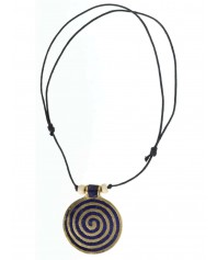 Necklace Phol with Spiral (3,5 cm)