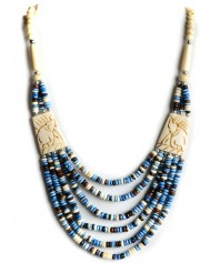 Pearl Necklace Duzisamor blue-white