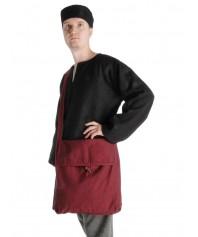 Mittelalter Tasche Wieland in Rot Frontansicht
