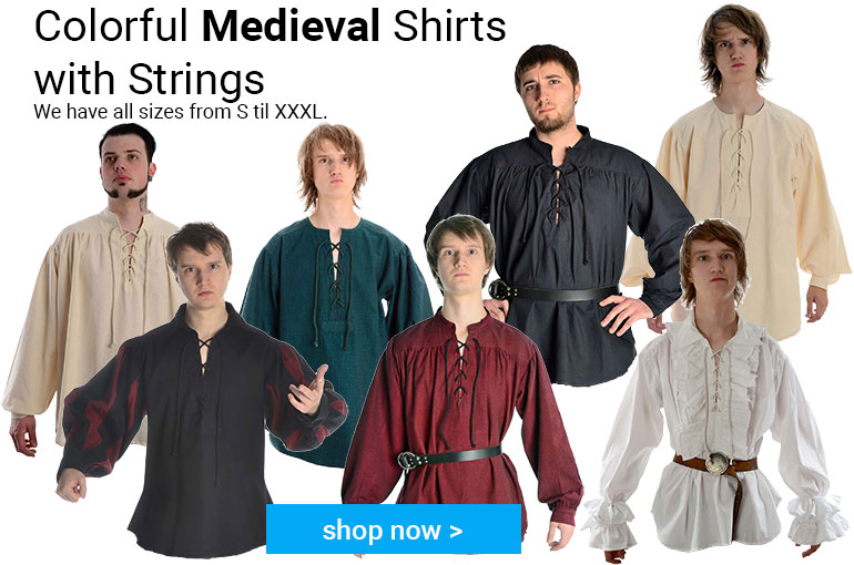 Medieval Male Shirts